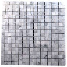Home Depot Marble Tile by Splashback Tile Oriental Squares 12 In X 12 In X 8 Mm Marble