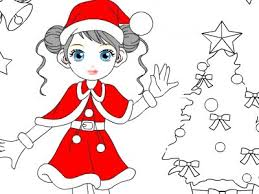 Barbie Fairy Coloring Pages Dolls For Christmas