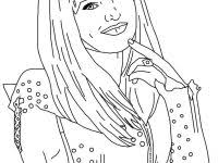 Mal From Descendants Coloring Pages