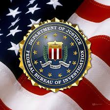 federal bureau of investigation f b i emblem flag