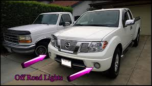 LED Off Road Lights In Fog Lamp Holes - Nissan Frontier Forum Dragon Rc Light System For Short Course Trucks Pkg 2 Ford Raptor Svt Truck Offroad Smoke Lens Led Tail Head Off Road Lights Roof Bar 0412 12016 F250 F350 Super Duty Fusion Front Offroad Bumper Fb Led Lighting Femine Hella Offroad Dee Zee Bullbar And Kc Leds Pt Youtube Best Cree Reviews Truck 9inch Red 96w Round Work 12v Fog Driving 20 200w Osram Inch Curved 4d Spot Flood 18w 12v Parts Amazonca Accent Automotive Neon