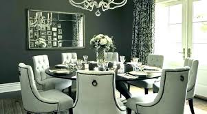 Dining Room Set With Round Table Fancy Sets Nice