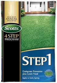 Fresh Drop Bathroom Odor Preventor Ingredients by Pre Emergent Weed Control Step 1 Crabgrass Preventer Scotts