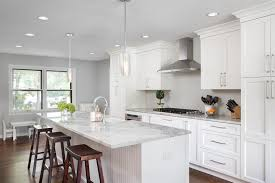 great idea of clear glass pendant lights for kitchen island