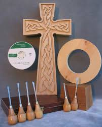 carve a celtic high cross beginning wood carving kit