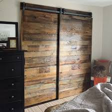 Barn Doors For Closet In Master Bedroom. They Are Sliding On Our ... Buy A Custom Made Sliding Barn Door Eertainment Center Made To Hgtv Featured Saloon Style Baby Hand Desk Shelves And By Perfect Design Replace Your Average Doors With These Custom Barn Btcainfo Examples Doors Designs Ideas Reclaimed Wood Heirloom Llc Modern With Red Resin Inlay Twochair Interior Video Photos Home Crafted Closet Hdware Pictures Outside