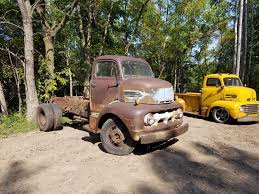1951 Ford Coe Cabover Truck Stubnose Old Farm Truck - Used Ford ... 1956 Ford Cabover Car Hauler Beautiful Hot Rod Truck Steemit 70s Comes Back As A Semi Cabover Trucks Wwwtrucks2scomcar Detailothergmc Other Coe Bangshiftcom There Is Cab Over Dodge Wrecker For Sale On Ebay Zach Beadles 1976 Peterbilt He Wont Soon Sell Our New Old Factor Fabrication 1948 Chevy Loadmaster Network Truck Trailer Transport Express Freight Logistic Diesel Mack The Mysterious 1959 C700 Trucks Freightliner By Bustrucklover Deviantart