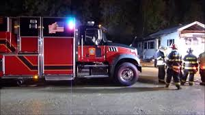 First Fire Call For New Rochester NH FD Engine 7 - YouTube