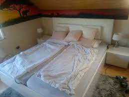 bett bettkasten schlafzimmer nachtkonsolen