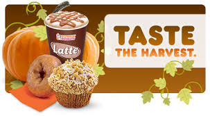 Dunkin Donuts Pumpkin Donut Recipe by The Great Pumpkin Flavors Are Back At Dunkin Donuts Eat Drink