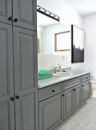 Rustoleum Cabinet Transformations Colors Canada by A Budget Friendly Bathroom Makeover Using Paint Dans Le Lakehouse