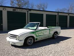 100 Convertible Chevy Truck 1994 S 10 Mini Lowrider Old School Custom