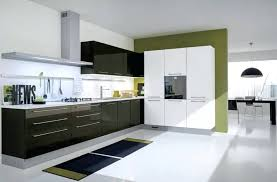 Modern Gloss Kitchen Cabinet Style High Cabinets White