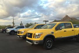 Is The 2016 Nissan Titan XD Capable Enough To Seriously Compete With ... 2016 Ford F150 Vs Ram 1500 Ecodiesel Chevy Silverado Autoguidecom 2012 Halfton Truck Shootout Nissan Titan 4x4 Pro4x Comparison 2015 Chevrolet 2500hd Questions Is A 2500 3 Pickup Truck Shdown We Compare The V6 12tons 12ton 5 Trucks Days 1 Winner Medium Duty What Does Threequarterton Oneton Mean When Talking 2018 Big Three Gms Market Share Soars In July Need To Tow Classic The Bring Halfton Diesels Detroit