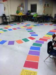 I Made A Life Size Candyland Game Board For My 5th Graders Standardized Test Prep
