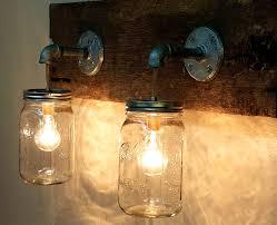 Lighting Fixtures Inspiring Diy Mason Jar Lights Fixtures Us