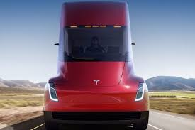 Tesla's New Electric Semi Truck Is Making Its Debut Delivery ...