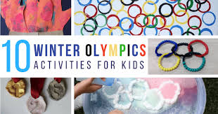 Winter Olympic Activities For Preschoolers With Your Kids At Home Or School Plenty Of STEM