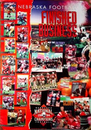 Husker Football Posters