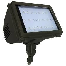 radiance 40 watt bronze integrated led outdoor adjustable