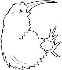 Sensational Design Ideas Kiwi Animal Coloring Pages