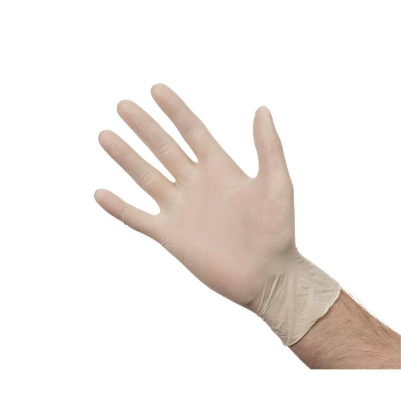 Latex Powder Free Gloves - Medium - Pack of 100