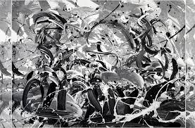 Abstract Artwork Black And White