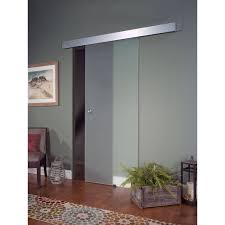 Glass Barn Door, Opaque - Walmart.com Interior Sliding Barn Door Hdware Doors Closet The Home Depot Sliders Australia Wardrobes Stanley Wardrobe Glass Design Very Nice Modern On Frosted With Bedrooms Styles Inside Bathroom Remodel Is Complete Pocket Glasses And By Ltl Products Inc Impressive 20 Decorating Of Best Frameless For Closets Entry Front Architectural Accents For The
