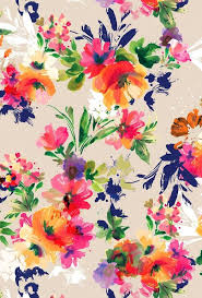 Colorful Floral Iphone Wallpaper Free Smart Phone Apple 736