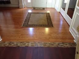 i just finished this project existing hardwood transitioning to