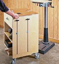 drill press cabinet could consider mounting bench height drill