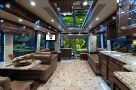 Luxury Rv Interior Outlaw Coach Photo Gallery Camper Van