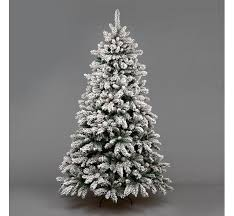 Pre Lit Pencil Cashmere Christmas Tree by Kaemingk Everlands Snowy Alaskan Pre Lit Christmas Tree E2 80 93