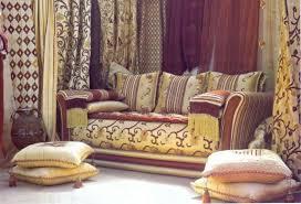 tissu canapé marocain tissus salon marocain moderne sur mesure décor salon marocain