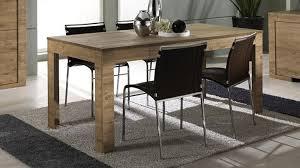 table de salle à mange ren bois avec rallonge emiliano mobilier moss