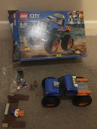 100 Lego Monster Truck Games LEGO 60180 City Great Vehicles Toy Vehicle