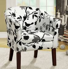 auteur french script armless patterned club chair pictures 63