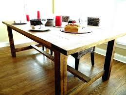 Farmhouse Dining Room Tables Rustic Table Ideas
