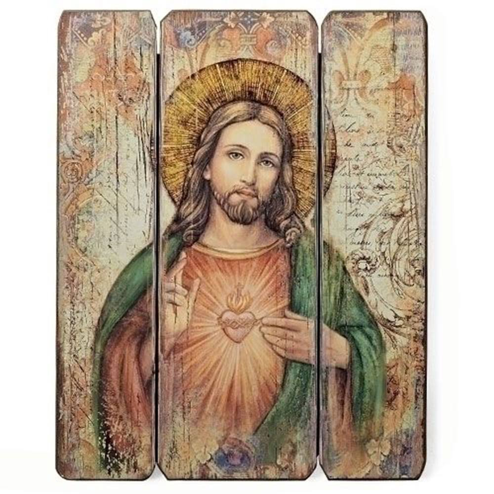 Sacred Heart of Jesus Decorative Wall Panel