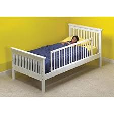 the kidco convertible childrens bed rail in white wood baby