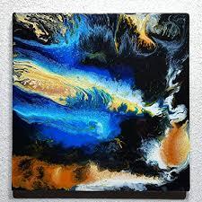 original malerei abstrakt resin kunst harz gemälde