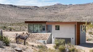 100 Desert Nomad House Hoogland Architecture Designs Arroyo For Stark Desert Site