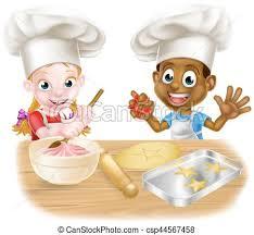 jouer a la cuisine cuisine enfants jouer garçon gâteaux cuisson habillé