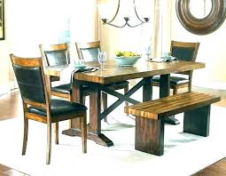 Diy Dining Table Bench Room Benches Contemporary Tables With A Inspiring Benc