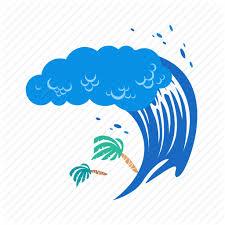 Tsunami Clipart PNG Image