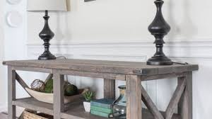 Impressive Beautiful Living Rooms Rustic Console Table Shab Pertaining To Shabby Chic Sofa Attractive