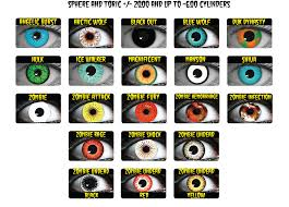 Cheap Prescribed Halloween Contacts by Theatrical Orion Vision Group