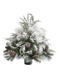 3ft Pre Lit Blossom Christmas Tree by Under 6 Foot Artificial Christmas Trees Balsam Hill