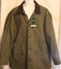 Orvis Men s Corduroy Collar Cotton Barn Jacket Size