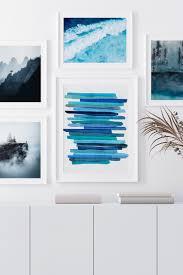 gerahmte premium poster korsischer berg beauquesne